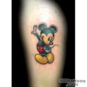 35 Disney Cartoon Mickey Mouse Tattoos_45