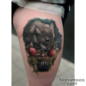 Field Mouse Tattoo  Best tattoo ideas amp designs_8