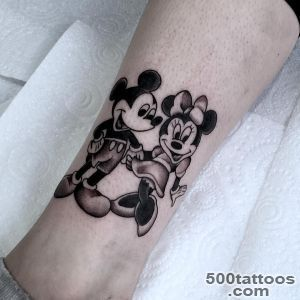Mickey and Minnie Mouse Tattoo  Best Tattoo Ideas Gallery_39