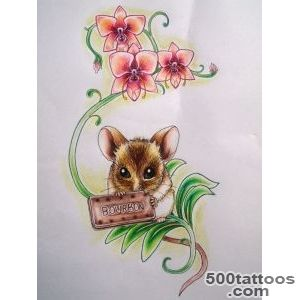 Mouse Tattoo Design by kirstynoelledavies on DeviantArt_43