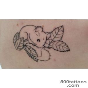 Outline of my harvest mouse tattoo   Nina Wu, Zen Ink Tattoo _1