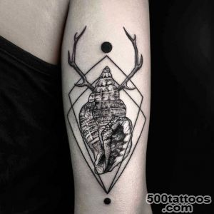 Geometric Nature Tattoos  nature tattoos_38