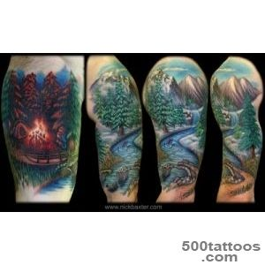 Worldwide Tattoo Conference  Tattoos  Realistic  Beauty Of Nature_21