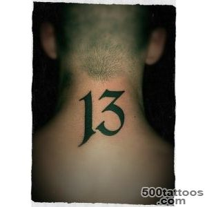 20+ Thirteen Number Tattoos_26