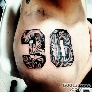 Number Tattoo  Best Design Tattoo_19