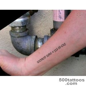 Number Tattoo Images amp Designs_47
