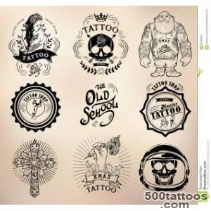Tattoo Old School Studio Skull Stock Vector   Image 62493913_44
