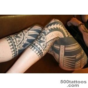 50 Incredible Leg Tattoos  Art and Design_32