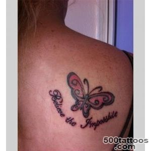 On shoulder blade tattoo design, idea, image