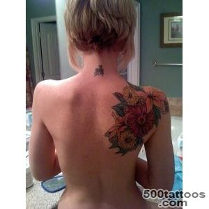 12 Amazing Tattoo Designs for Shoulder Blade   Pretty Designs_36