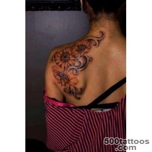65 Beautiful Shoulder Blade Tattoos_9
