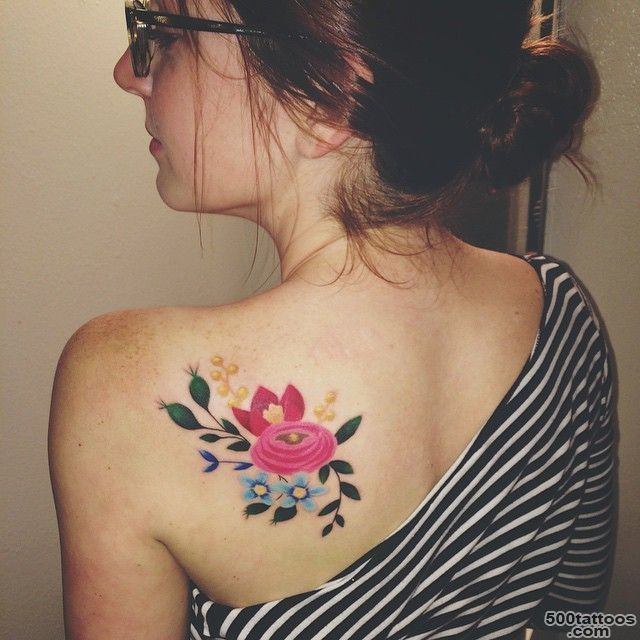 405697ee19d6d On shoulder blade tattoo: photo num 20389