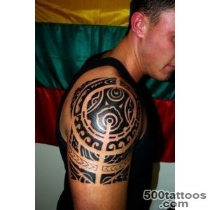 40 Most Popular Tribal Tattoos for Men_13