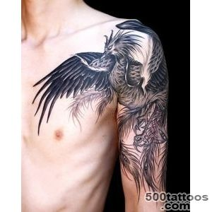 100 Exceptional Shoulder Tattoo Designs for Men and Women_20