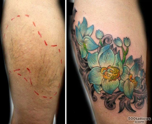 This Woman Does Free Tattoos For Women To Cover Up The Scars Of ..._20
