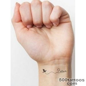 45 Unique Small Wrist Tattoos for Women and Men   Simplest To Be Drawn_4