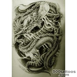 Oriental tattoo design, idea, image