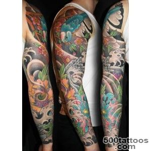 James Lovegrove Tattoo » oriental colour work_5