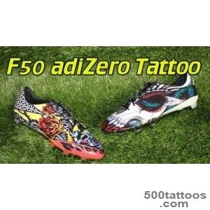 Adidas F50 adizero 2015 Tattoo Pack   Review + On Feet   YouTube_14