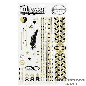 Glorious Gold Tattoo Set by Inkwear at Monroe and Me, fashion _21