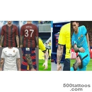PES 2016 Special Tattoo Pack v4 (+200 Tattoo#39s Player _39