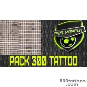 PES 2016 Tattoo Pack 300 by Marc?u   PES Patch_27