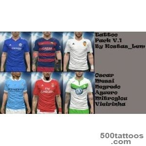 PES 2016 Tattoo Pack v1 By Kostas_Lem   PES Patch_26