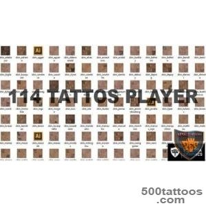 PES 2016 Tattoo Pack V2 ( 114 Tattoo) by Donyavia, download _ 44