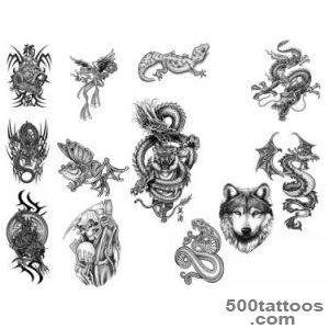 Photoshop Tattoo Brushes Pack by rkoyuki on DeviantArt_34