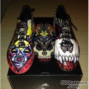 Review   Adidas F50 Adizero Tattoo Pack (Limited Edition)   YouTube_7