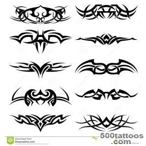 Tribal Tattoo Pack, Vector Stock Images   Image 17345594_13