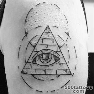 18 Refreshing Pyramid Tattoos to Try_16