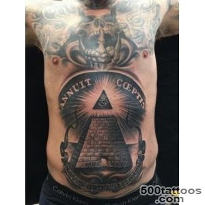 Illuminati Belly Tattoo Pyramid   Ideas Tattoo Designs_38