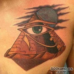 Little Pricks Tattoo Studio  Traditional pyramid tattoo by our _23