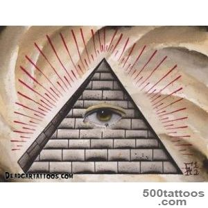 Pin Pin Pyramid Black And Grey Tattoo Designs Tattoos Gallery On _40