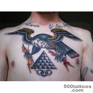 Red Pyramid Head Tattoo On Biceps Real Photo, Pictures, Images _33
