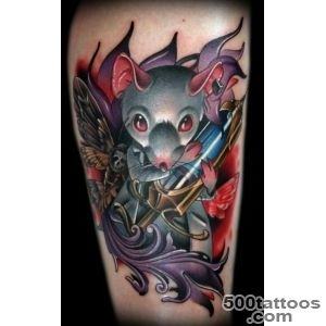 30 Cool Rat Tattoo Ideas For You_14