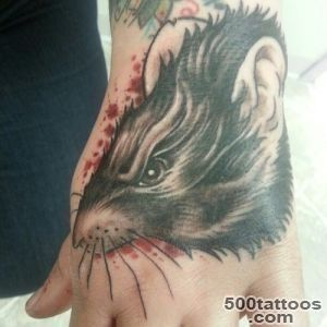 30 Cool Rat Tattoo Ideas For You_33