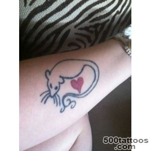 30 Cool Rat Tattoo Ideas For You_40