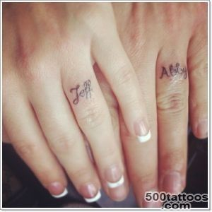 40 Of The Best Wedding Ring Tattoo Designs_11