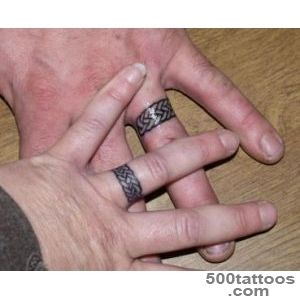 Tattoo Wedding Rings as the Wedding Ring Replacement — Lovely _34