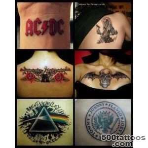 Rock band tattoos  Tattoos  Pinterest  Band Tattoo, Rock Bands _22