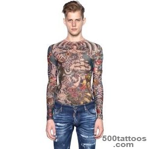 Dsquared?-Tattoo-Printed-Sheer-Long-Sleeve-T-shirt-in-Multicolor-_40jpg