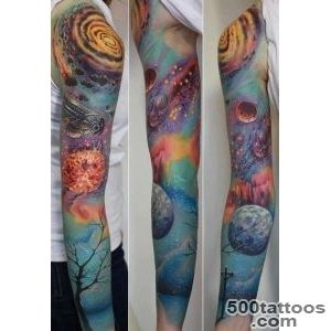 40 Space Tattoo Ideas  Art and Design_10