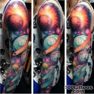Modern Space Tattoo Ideas for 2016  Tattoo Ideas Gallery _16