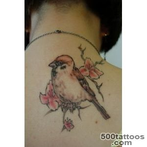 Sparrow Tattoos Designs, Ideas and Meaning  Tattoos For You_48