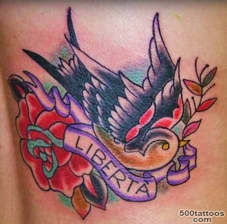 Tattoos of Sparrows  High Quality Photos and Flash Designs of ..._40
