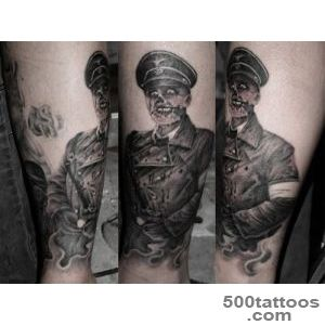 Shannon Larratt is Zentastic › Dead Snow inspired SS Zombie Tattoo _1