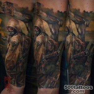 Realistic Radioactive Stalker  Best Tattoo Ideas Gallery_7