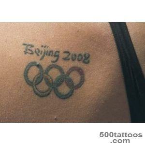 Calling All Swimmers With The Olympic Rings Tattoo_29